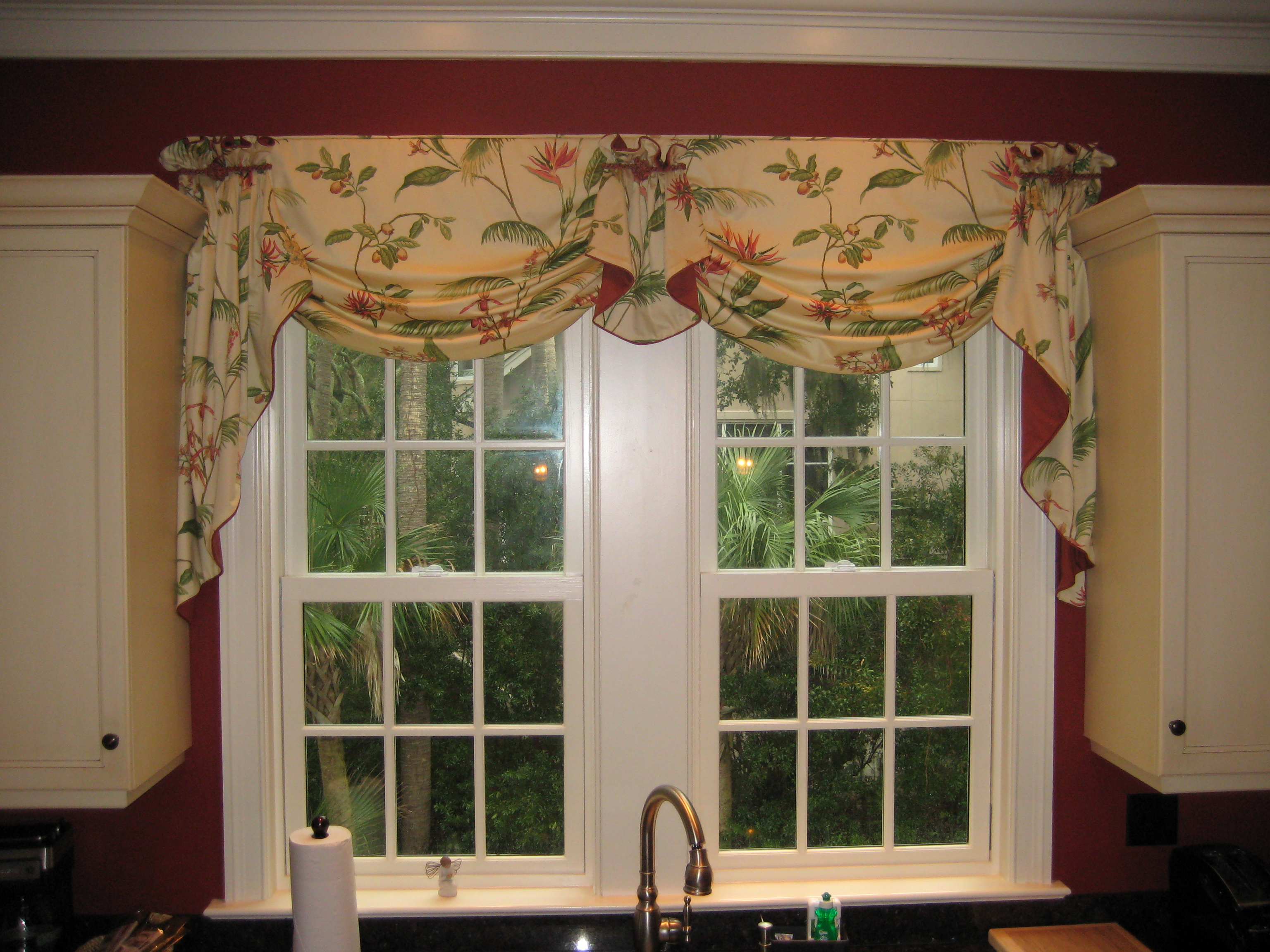 Modern Kitchen Valance modern kitchen curtains beautifull gallery - many ideas to
