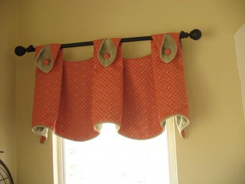 Kitchen valances for windows photo - 3