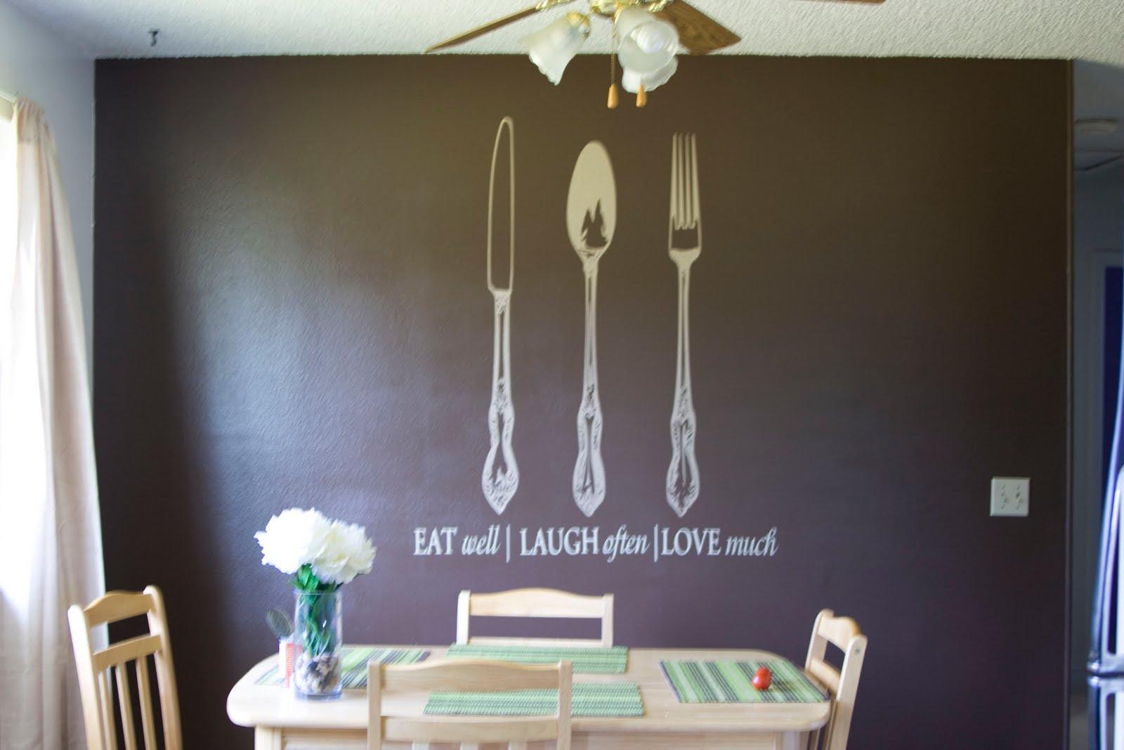 Kitchen vinyl wall art photo - 2