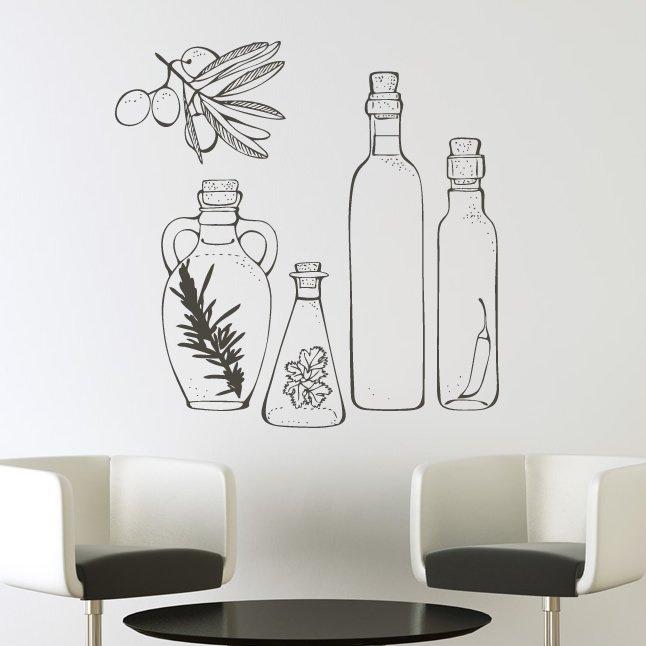 Kitchen wall art decals photo - 1