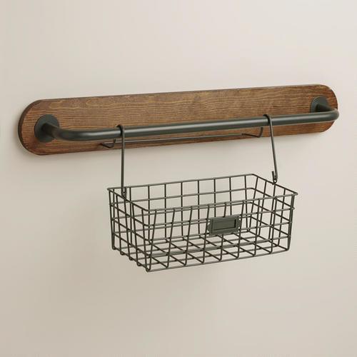 Kitchen wall baskets photo - 2