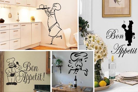 Kitchen wall decals photo - 3