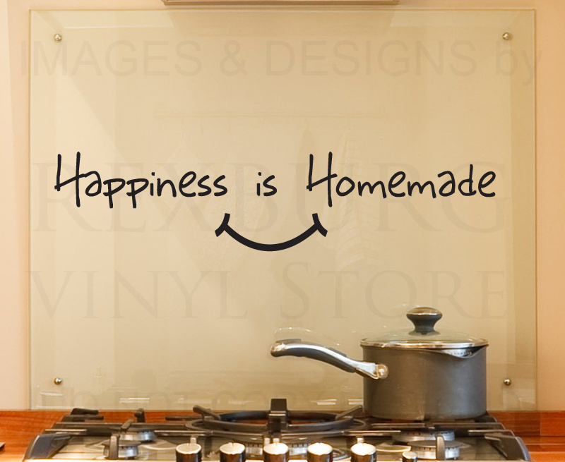 Kitchen wall decals quotes photo - 1