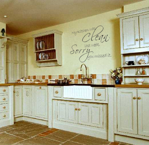 Kitchen wall decals removable photo - 1