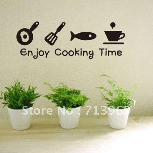 Kitchen wall stickers photo - 1