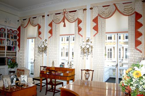 Kitchen window curtains photo - 1