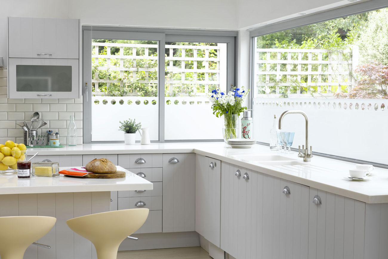 Kitchen window panels photo - 1