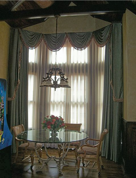 Kitchen windows curtains photo - 1