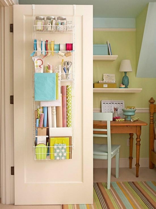 Kitchen wrap storage photo - 2