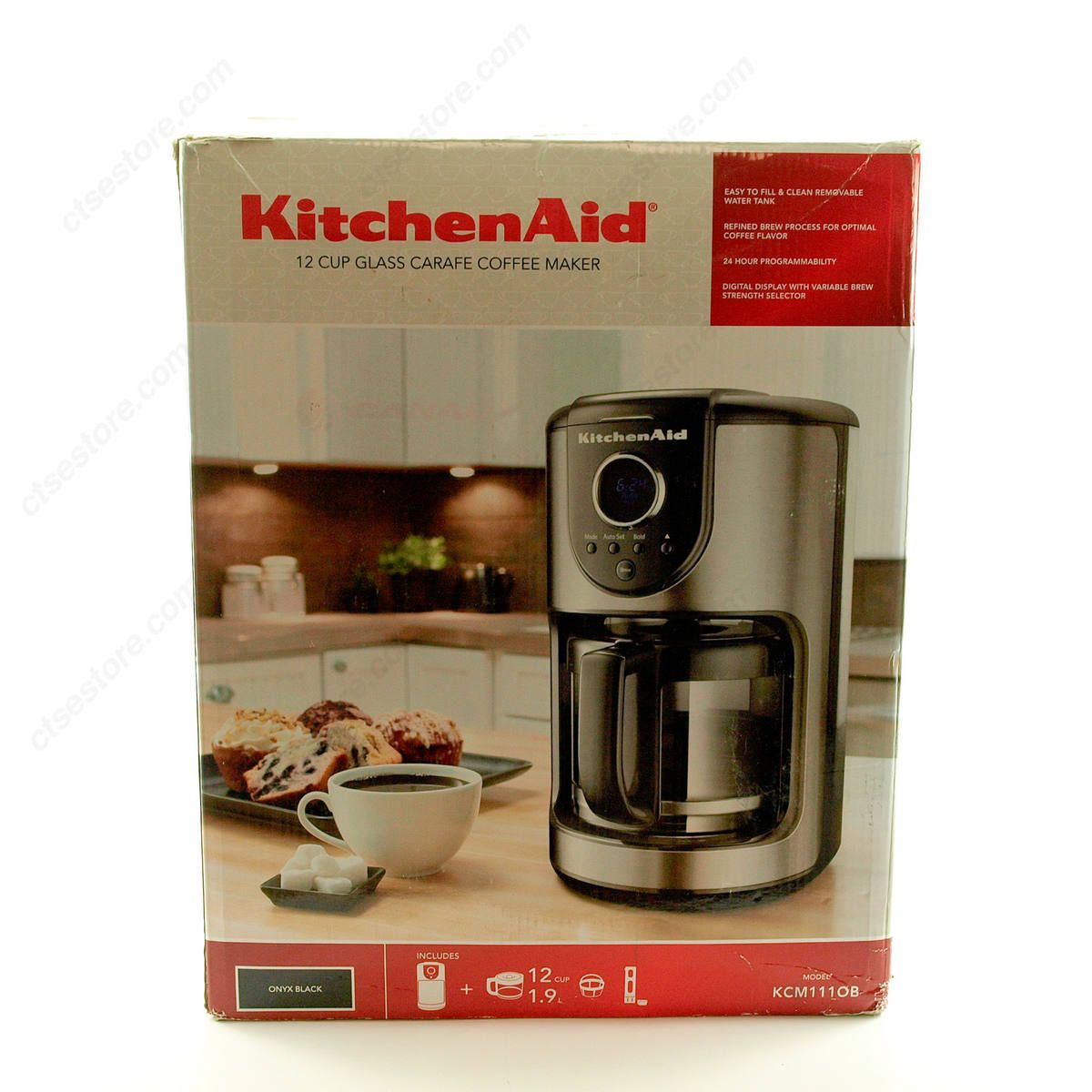 Kitchenaid 12 cup coffee maker photo - 1