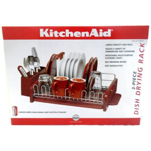 Kitchenaid dish drying rack roselawnlutheran - Kitchenaid dish rack red ...