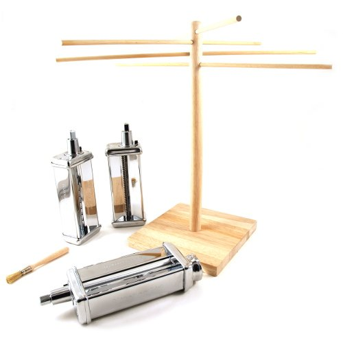 Kitchenaid 3 piece pasta roller and cutter set photo - 1