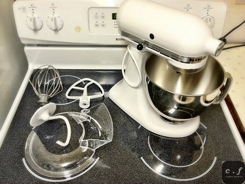 Kitchenaid artisan 5 quart stand mixer photo - 1