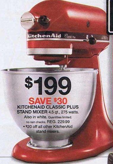 Kitchenaid classic plus mixer photo - 2