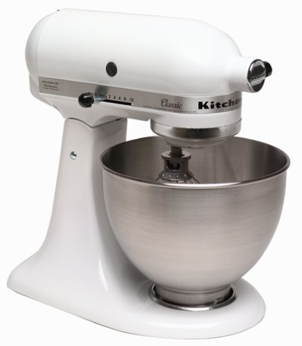 Kitchenaid classic stand mixer white photo - 1