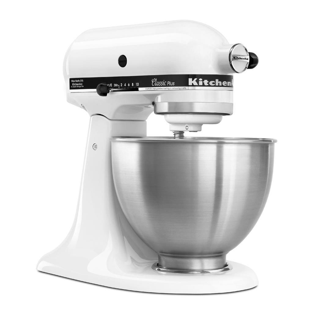 Kitchenaid classic stand mixer white photo - 3