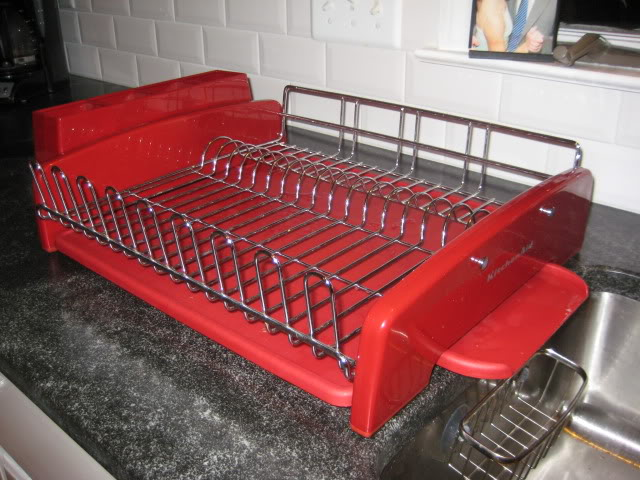 Kitchenaid dish drainer kitchen ideas - Kitchenaid dish rack red ...