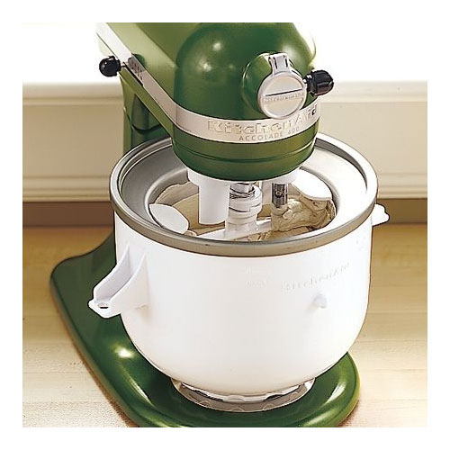 Kitchenaid icecream maker photo - 2