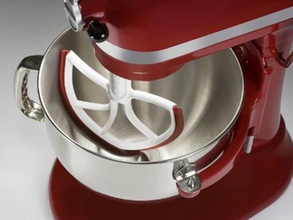 Kitchenaid Paddle Attachment With Scraper interesting kitchenaid mixer blade with scraper aid 55 quart heavy