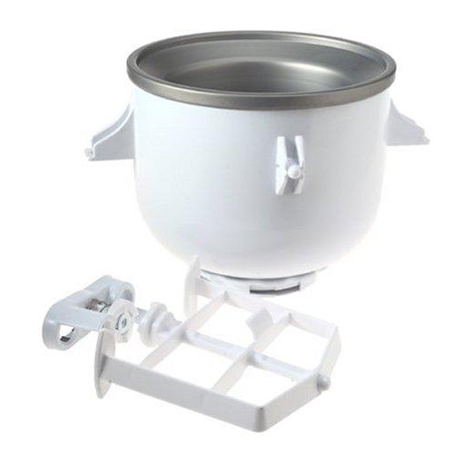 Kitchenaid mixer ice cream maker attachment photo - 1
