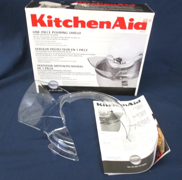 Kitchenaid mixer pouring shield photo - 3