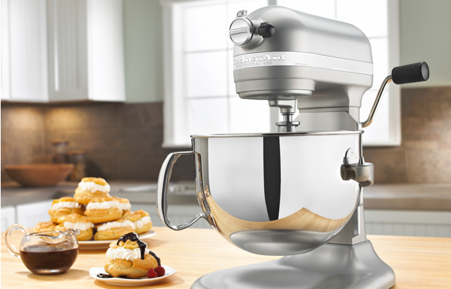 Kitchenaid mixer with all attachments photo - 1