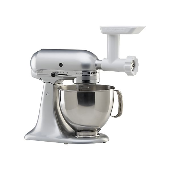 Kitchenaid mixer with meat grinder photo - 2