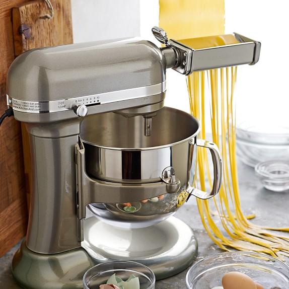 Kitchenaid mixer with pasta attachment photo - 2