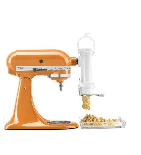 Kitchenaid mixer with pasta attachment photo - 3