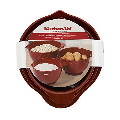 Kitchenaid mixing bowls set of 3 photo - 1