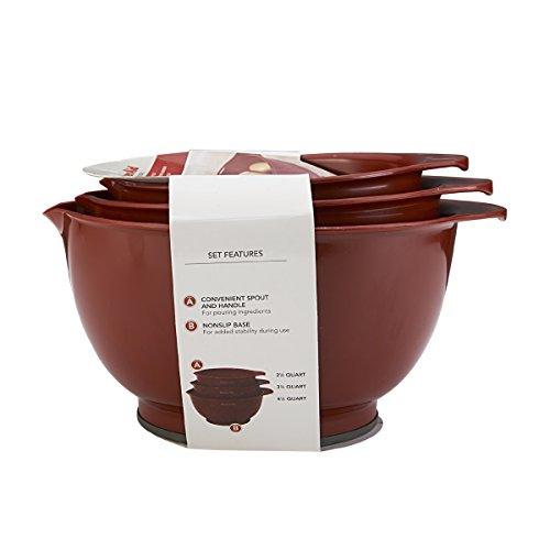 Kitchenaid mixing bowls set of 3 photo - 2