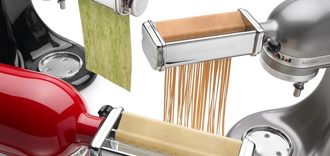 Kitchenaid pasta roller attachment set photo - 2