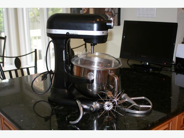 Kitchenaid stand mixer black photo - 1