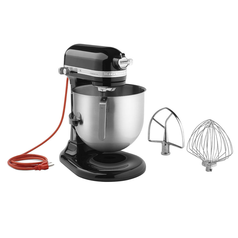 Kitchenaid stand mixer black photo - 2