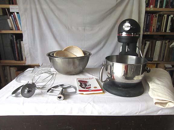 Kitchenaid stand mixer dimensions photo - 3