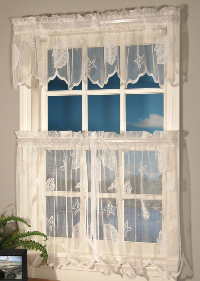 Lace Kitchen Curtains Photo   1 Lace Kitchen Curtains Photo   1 ...