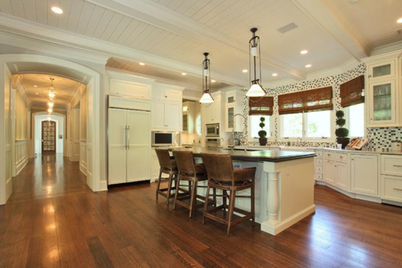 Large kitchen island photo - 3