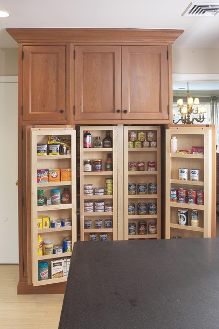 Large kitchen pantry cabinet Kitchen ideas