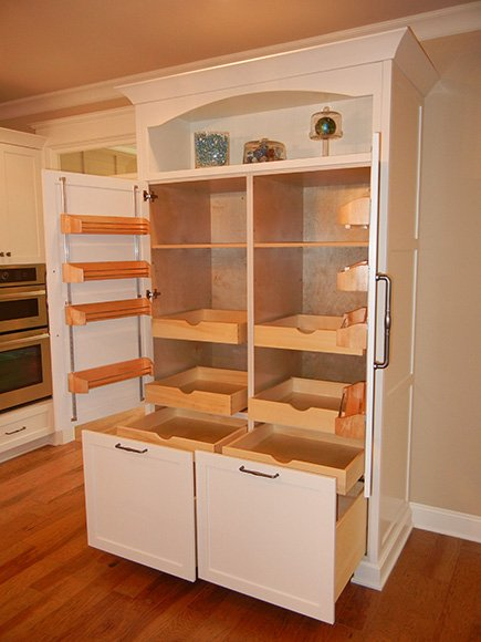 Large kitchen pantry cabinet kitchen ideas for Kitchen pantry cabinet plans