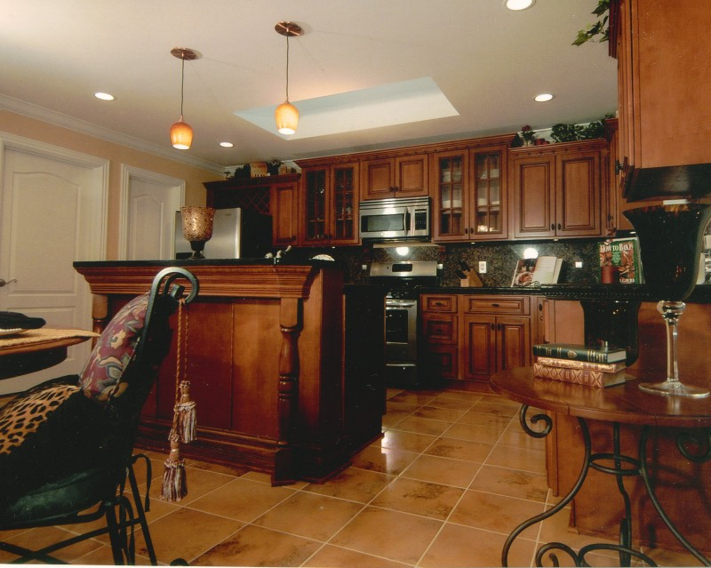 Lining kitchen cabinets photo - 2