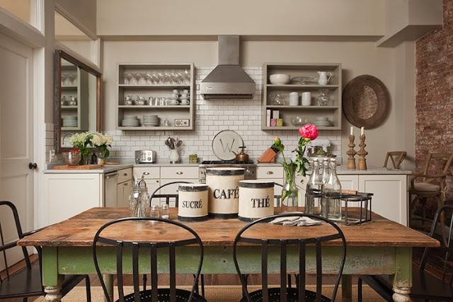 10 photos to magnolia kitchen decor