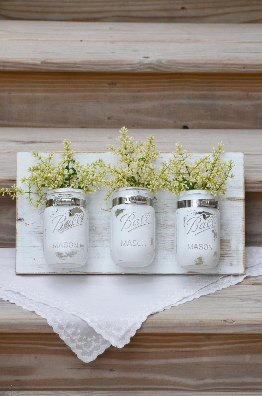 Mason jar kitchen decor photo - 3