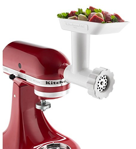 Meat grinder for kitchenaid photo - 3