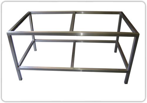 Metal kitchen table photo - 1