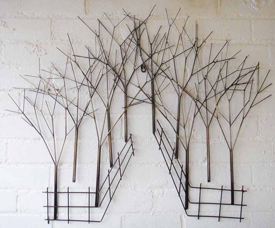 Metal wall art for kitchen kitchen ideas for Kitchen colors with white cabinets with metal tree wall art kohls