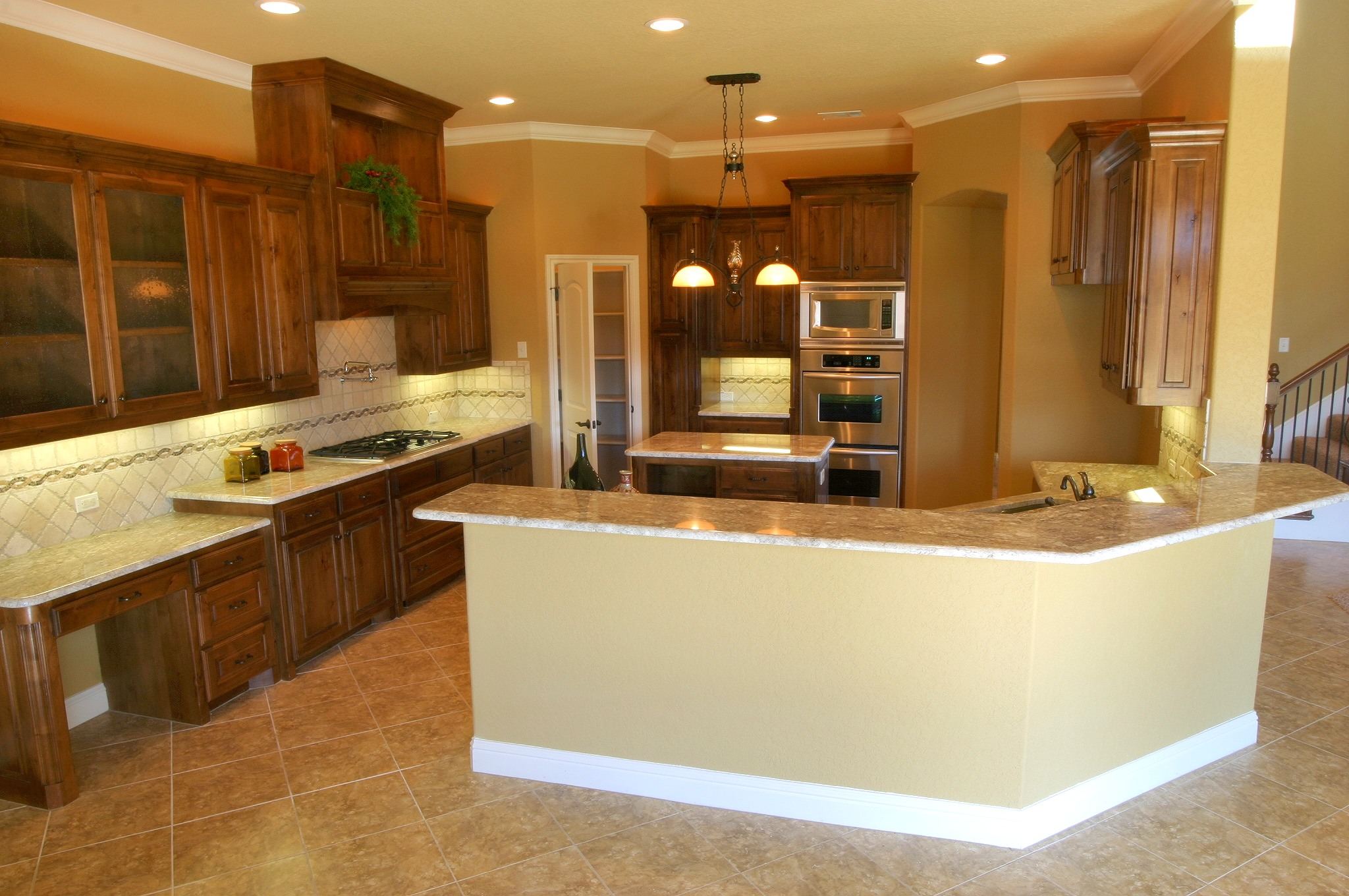 Microwave kitchen cabinet photo - 2