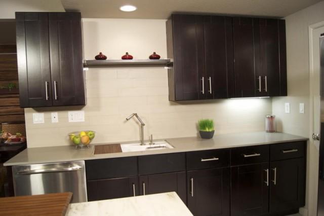 Mocha kitchen decor photo - 3
