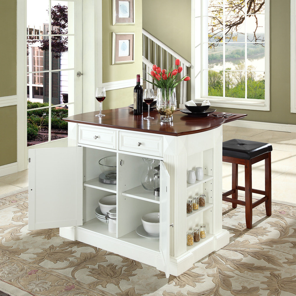 Modern kitchen island cart photo - 2