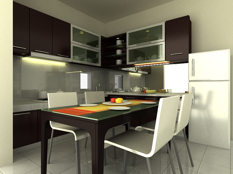Modern kitchen sets photo - 2