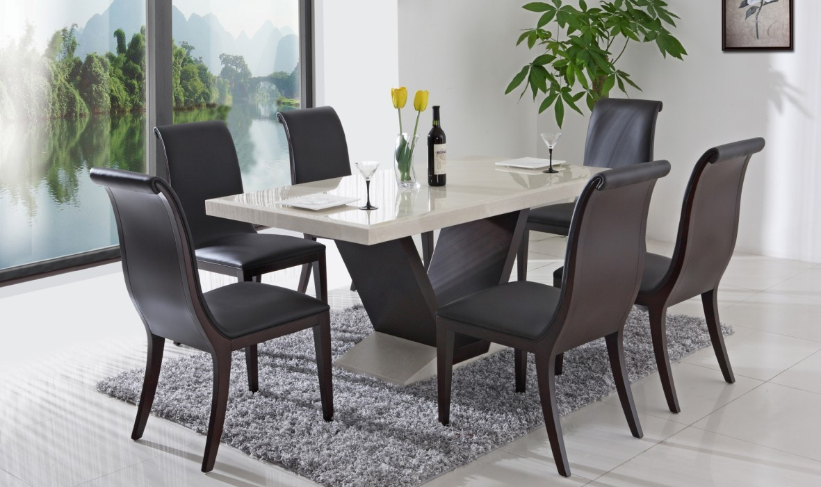 Modern kitchen table sets photo - 3